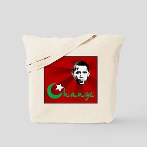 Anti-Obama: Change Tote Bag