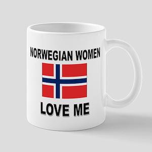 Norwegian Women Love Me Mug