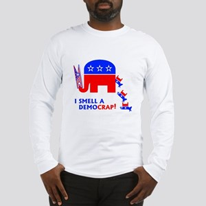 I Smell A Democrap - Long Sleeve T-Shirt