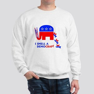 I Smell A Democrap - Sweatshirt