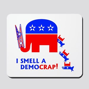 I Smell A Democrap - Mousepad