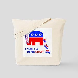 I Smell A Democrap - Tote Bag
