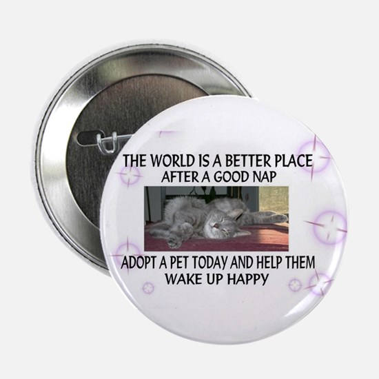 """""""A better place"""" 2.25"""" Button (10 pack)"""