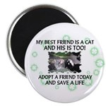 """My best friend"" 2.25"" Magnet (100 pack)"