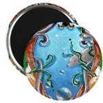 """""""Water View"""" 2.25"""" Magnet (10"""