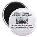"""Easy to relax"" Magnet"