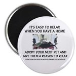 """""""Easy to relax"""" Magnet"""