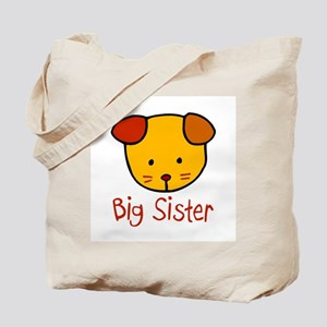 Dog Big Sister Tote Bag