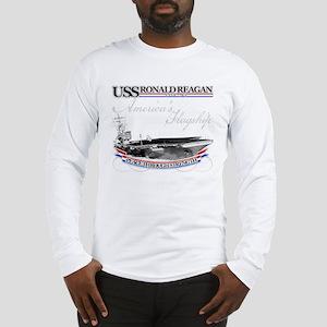 USS Ronald Reagan Long Sleeve T-Shirt