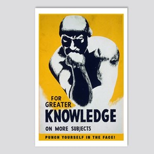Knowledge Punch Postcards (Package of 8)