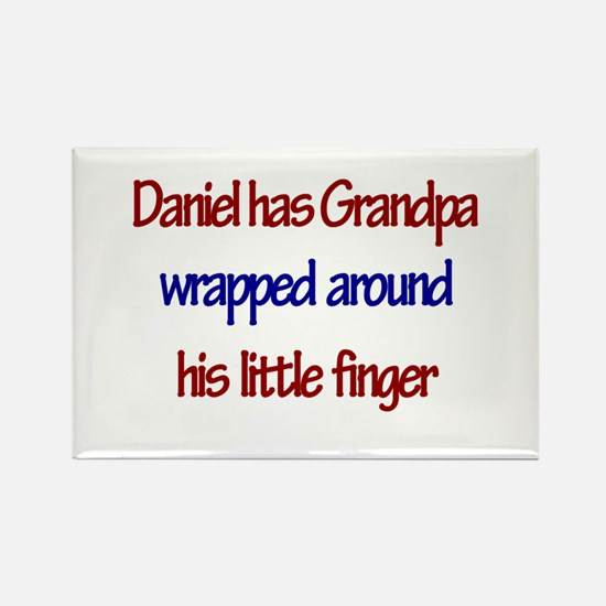Daniel Has Grandpa Rectangle Magnet