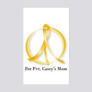 Peace For Cindy Sheehan Rectangle Sticker