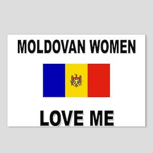Moldovan Women Love Me Postcards (Package of 8)