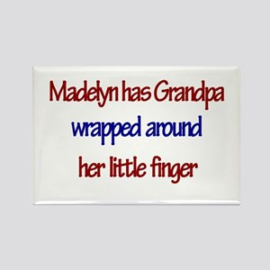 Madelyn Has Grandpa Rectangle Magnet