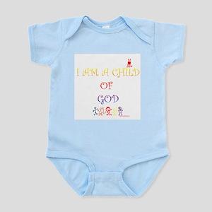 I AM A CHILD OF GOD Infant Bodysuit
