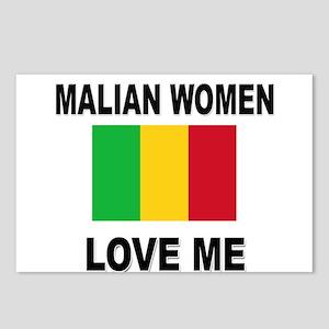 Malian Women Love Me Postcards (Package of 8)