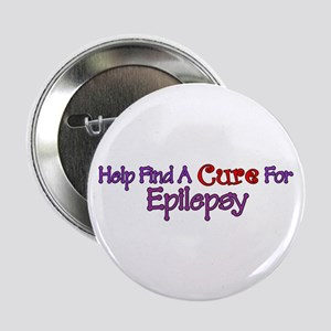 "Help find Cure EPILEPSY 2.25"" Button"