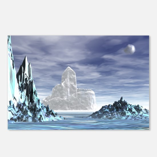 Ice Castle - Postcards (Package of 8)