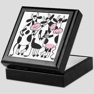 3 Cows Keepsake Box