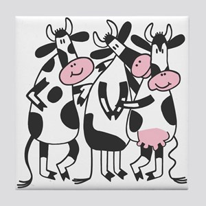3 Cows Tile Coaster
