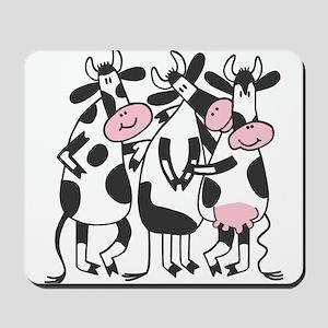 3 Cows Mousepad