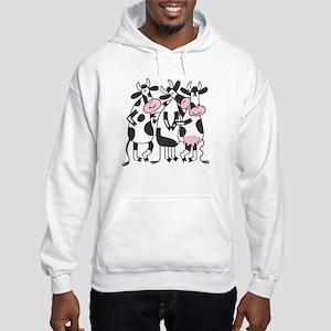3 Cows Hooded Sweatshirt