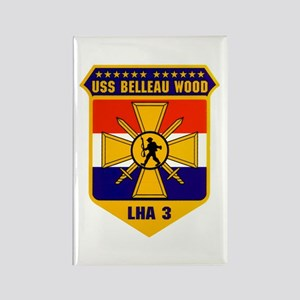 USS Belleau Wood LHA-3 Rectangle Magnet