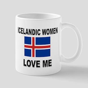 Icelandic Women Love Me Mug