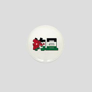 Jordan in Chinese Mini Button