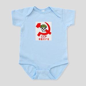 Red Skull Infant Creeper