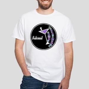 Retro Bridesmaid White T-Shirt