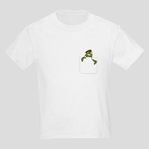 Beret Frog Kids T-Shirt
