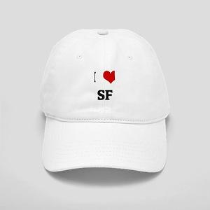 I Love SF Cap