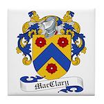 MacClary Family Crest Tile Coaster