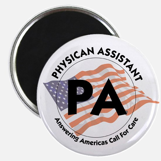 Patriotic Physician Assistant Magnet