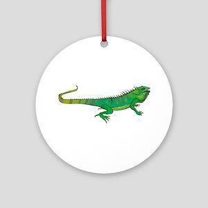 Iguana Keepsake (Round)