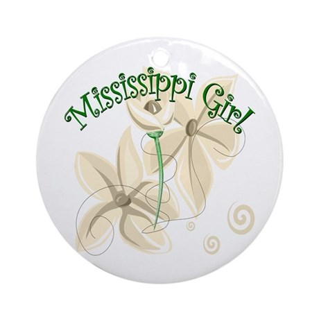Mississippi Girl Keepsake (Round)