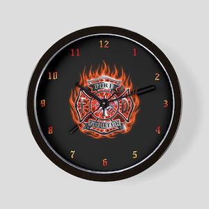 Fire Dept. Wall Clock