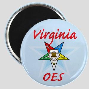 Virginia Eastern Star Magnet