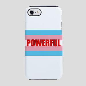 Trans Pride Flag - Powerful iPhone 8/7 Tough Case