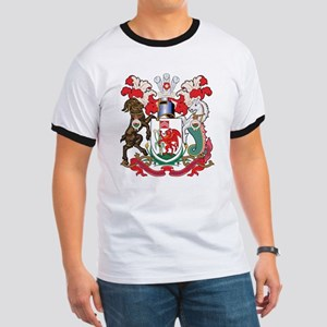 Cardiff Coat Of Arms Ringer T