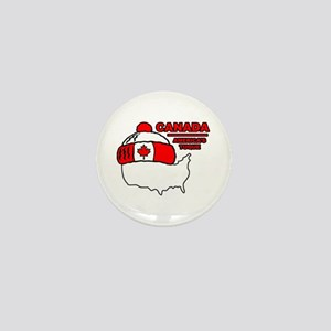 Funny Canada Mini Button