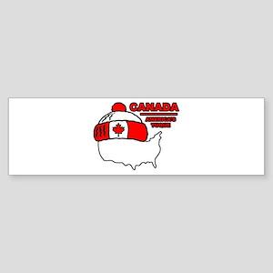 Funny Canada Bumper Sticker