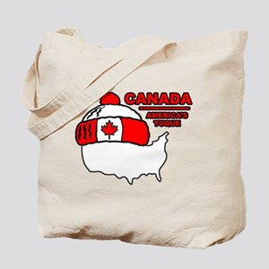 Funny Canada Tote Bag