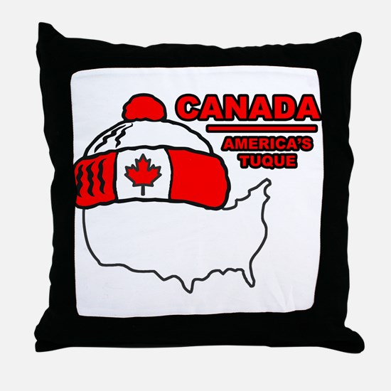 Funny Canada Throw Pillow