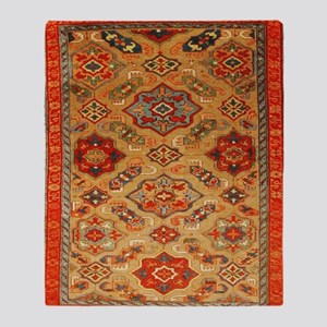 Kuba Caucasian Throw Blanket