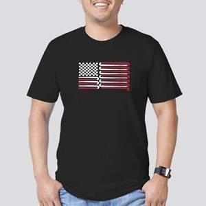 Field Hockey American Flag with Balls and T-Shirt
