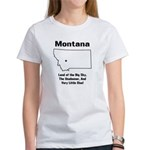 Funny Montana Motto Women's T-Shirt