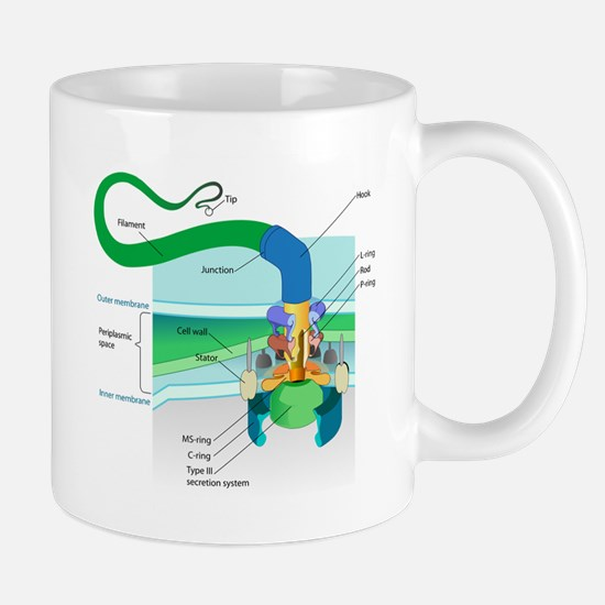 Cell Structure Small Mugs (11 oz) | Cell Structure Small Coffee Mug