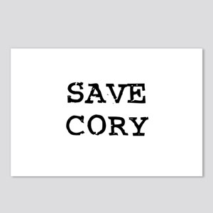 Save Cory Postcards (Package of 8)
